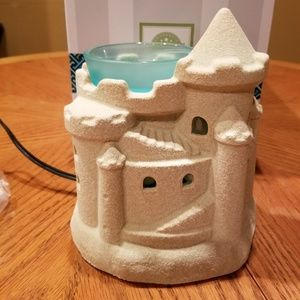 Scentsy Full Size Warmer - Summer Sand Castle
